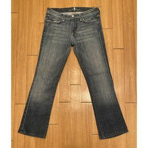 """7 For All Mankind Jagger Jeans Size 29 Inseam 28"""""""